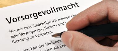 Die Rechtsanwälte Stalling & Kollegen aus Kassel beraten rechtlich zum Thema Vorsorgevollmacht.